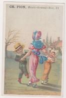 26839 Chromo Chemiserie PION Grande Rue NANTES 44 France -  Mode Directoire Enfant Danse Ronde - Autres