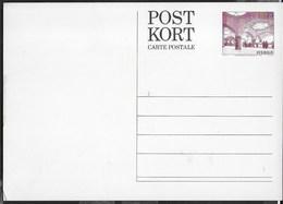 SVEZIA - CARTOLINA POSTALE - 100° UPU - CARL WILHELMSON - (MICHEL P97) - Interi Postali