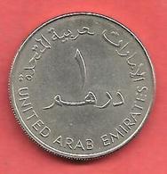1 Dirham , Union Arabe Emirats , ACIER , 1998 , N° KM # 6.2a - Monnaies