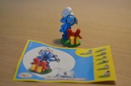 Kinder Schtroumpf - 2008 - NV136 Schtroumpf Bricoleur + BPZ - MonoBlocks