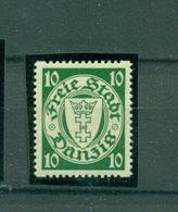 Danzig, Staatswappen, Nr. 194 D Y Postfrisch ** Geprüft BPP - Danzig