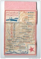 Carnet De Papier à Cigarettes/Carte Egypte /Avion// Vers 1930-50        CIG17twelve - Tabac (objets Liés)
