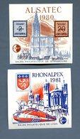 France, CNEP Bloc 1 Et 2 (Rhonalpex Et Alsatec) - Neuf - (B2004) - CNEP