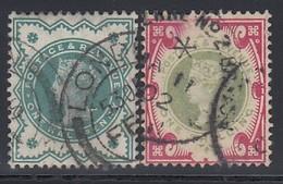 GB 1900 - MiNr: 100-101   Used - 1840-1901 (Viktoria)