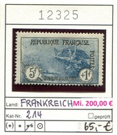 Frankreich - France - Francia -  Michel 214 - ** Mnh Neuf Postfris - France
