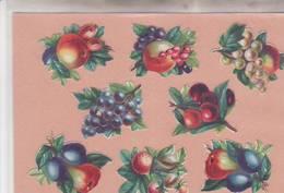 DECOUPIS /GAUFRER : FRUITS 8 / - Découpis
