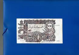 Algérie Billet 500 Dinars 1970 / Algeria Banknote 500 Dinars 1970 - Algérie