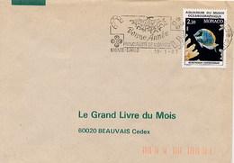 MONACO - MONTECARLO - BONNE ANNEE 1987 - Anno Nuovo