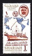 PGL BZ784 - SHARJAH Yv N°114 ** TELECOMMUNICATIONS - Sharjah