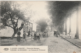 St JOORIS WINGHE Thiensche Steenweg. WINGHE St GEORGES. Ch. De Tirlemont. Prés De Tielt Winge. Postée 1922 (voir 2 Scans - België
