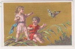 26843 Chromo Metivier Rue Calvaire NANTES 44 France - Botte D'or Chaussure -amour Ange Papillon - Autres