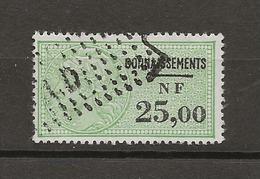 FISCAUX FRANCE CONNAISSEMENTS  N°119 25NF00 VERT - Fiscaux