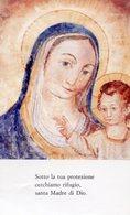 San Donaci (Brindisi) - Santino Grande MATER DIVINAE GRATIAE (Affresco IX-XII Sec.) - PERFETTO P99 - Religione & Esoterismo
