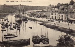 DPT 29 PONT-AVEN Le Port Et Les Villas - Pont Aven