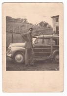 "AUTO - CAR - VOITURE - FIAT ""  500 C GIARDINIERA LEGNO "" - Foto Originale - Automobili"