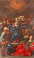 Aversa (Caserta) - Santino LA PENTECOSTE (Ambito Napoletano Sec.XII) Parrocchia Di Santo Spirito - PERFETTO P99 - Religione & Esoterismo