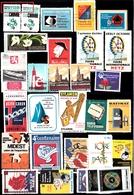 Lot 4  Vignettes Toutes Différentes Voir Scan - Commemorative Labels