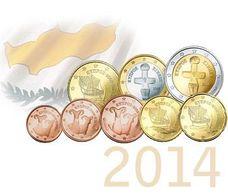 Cyprus Set 2014  UNC - Chypre