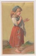 26847 Chromo Lajeunesse Marx Rue Calvaire NANTES 44 France - Confection Cachemire Fillette Mendiant Mendiante - Autres