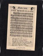 84125    Francia,   La Marseillaise,  Marche Des Marseillois,  NV - Musique