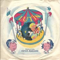 """Linette Et Claude  """"  Trois Anges Sont Venus  """" - 78 T - Disques Pour Gramophone"""