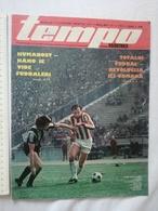 1978 TEMPO YUGOSLAVIA SERBIA SPORT FOOTBALL MAGAZINE NEWSPAPERS Formula 1 Grand Prix REAL MADRID  RED STAR WATER POLO - Deportes