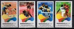 SPORTS, 2018, MNH, 23rd CENTRAL AMERICAN & CARIBBEAN GAMES, BARANQUILLA 2018, BASEBALL, BASKETBALL, BOXING, WRESTLING,4v - Basketball