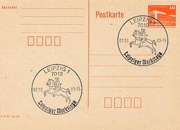 GERMANIA - DDR - LEIPZIG 1988 - SERVIZIO POSTALE A CAVALLO - [6] Repubblica Democratica