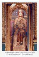 Cercina (Firenze) - Santino MADONNA CON BAMBINO (statua Lignea Sec. XIII) Pieve Di Sant'Andrea - PERFETTO P99 - Religione & Esoterismo
