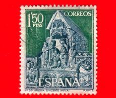 SPAGNA - Usato - 1968 - Turismo - Chiesa Di San Vicente, Avila - L'adorazione Dei Magi - 1.50 - 1931-Oggi: 2. Rep. - ... Juan Carlos I
