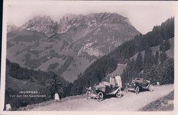 Jaunpass, Voitures Sur La Route Du Col Dans Les Années 192.. (926) - BE Berne