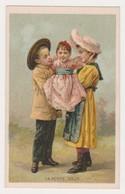 26850 Chromo Chicoree Lervilles Usine BOUCHAIN -mode Enfant Petite Soeur Costume - Thé & Café