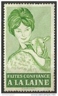 Vignette - Faites Confiance A La Laine Unused - Commemorative Labels