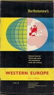 EUROPE De L'OUEST - BARTHOLOMEW'S WORLD SERIES (3.000.000ème) - Cartes Routières