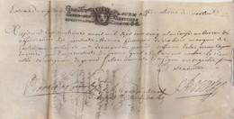 Manuscrit Parchemin 1705 Cachet Généralité Marquis De Castelnau Parlement De Toulouze ( Toulouse ) Contre Sieur Abbé - Documents Historiques