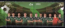 MEXICO, 2018, MNH, SOCCER, FOOTBALL, RUSSIA WORLD CUP, NATIONAL TEAM, 2v - World Cup