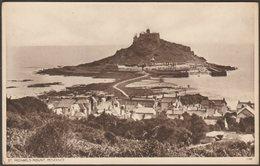 St Michael's Mount, Penzance, Cornwall, C.1930s - Postcard - St Michael's Mount