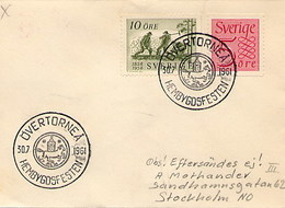 SVEZIA - SVERIGE - OVERTORNEA HEMBY FESTEN - Övertorneå  1961 HEMBYGDSFORBUND - [6] Repubblica Democratica