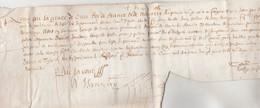 Manuscrit Parchemin 1628 Parlement De Toulouze ( Toulouse ) - Jourdain - Historical Documents