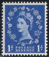 GB 1952 Yv. N°263 - 1p Outremer - Neuf ** - 1952-.... (Elizabeth II)