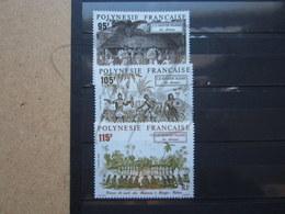 VEND BEAUX TIMBRES DE POLYNESIE N° 410 - 412 , XX !!! (a) - Polynésie Française
