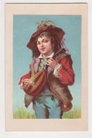 26853 Chromo Chocolaterie Nantaise -Berthelot Rue Voltaire Nantes Confiserie - Musicien Italien Guitare - Chocolat