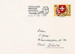 SVIZZERA - TRAMELAN - CONCOURS HIPPIQUE NATIONAL 1984 - Ippica