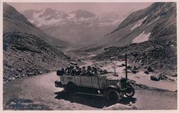 Am Julierpass, Bus Postal St Moritz-Julier-Tiefencastel-Chur (5748) - GR Grisons