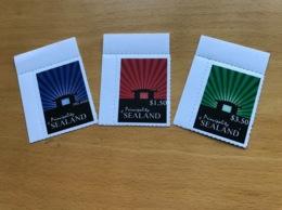 Très Rare: Série SEALAND» Plate- Forme» 2010( 3 T Officiels émis Par La Principauté) - Europe (Other)