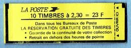 CARNET 2614-C4     COTE:  12 € - Carnets