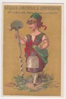 26857 Chromo Gateaux Lorientais CRUCER Place Bisson Lorient 56 France - Vin Femme Beaune Somelier - Confiserie & Biscuits