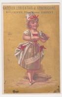 26858 Chromo Gateaux Lorientais CRUCER Place Bisson Lorient 56 France - Vin Femme Chablis Moule - Confiserie & Biscuits