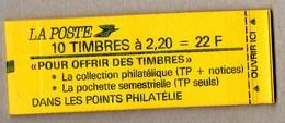 CARNET 2376-C4     COTE:  18 € - Carnets
