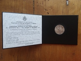SAN MARINO - 500 Lire Commemorativo 1975 - F.D.C. + Spese Postali - Saint-Marin